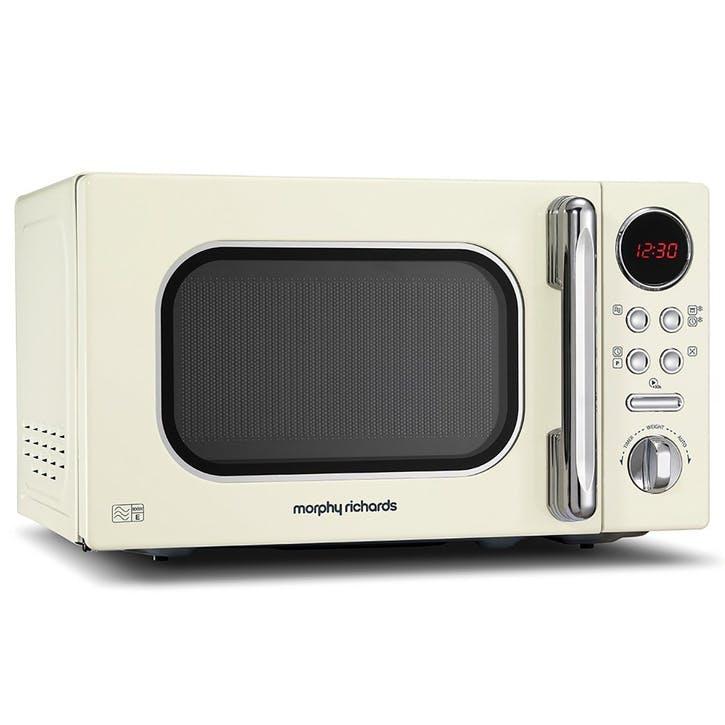 Microwave 800w - 20L; Cream