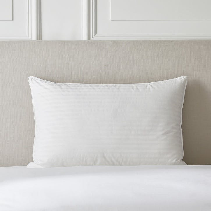 Hungarian Goose Down Support Pillow, Standard, Soft/Medium
