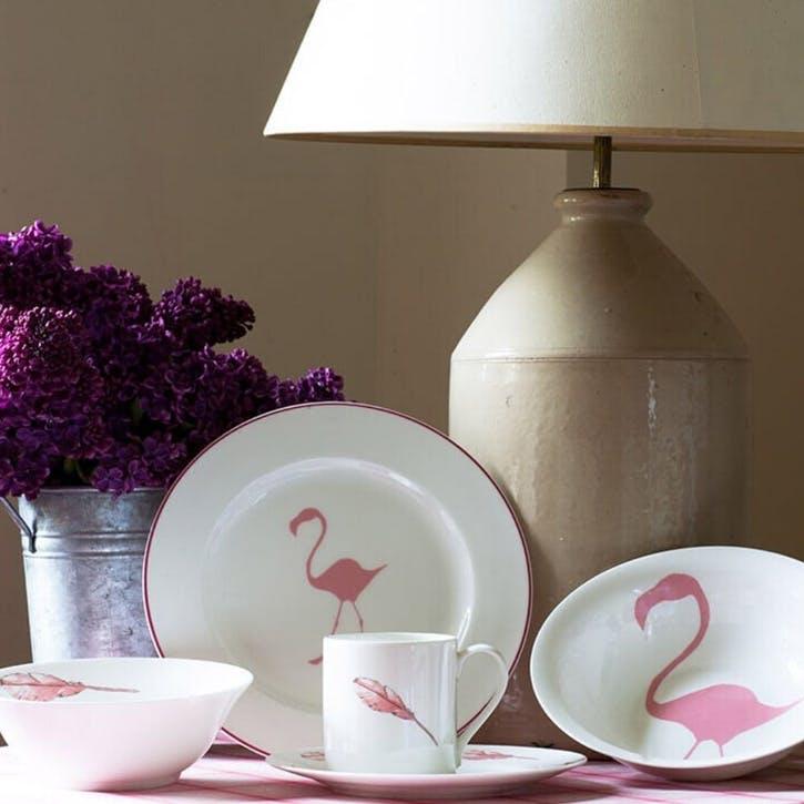 Flamingo Dinner Plate