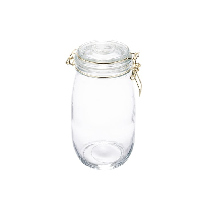 Clip-Top Storage Jar, 1.5L