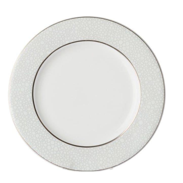 Effervesce Service Plate, Pearl, 30cm
