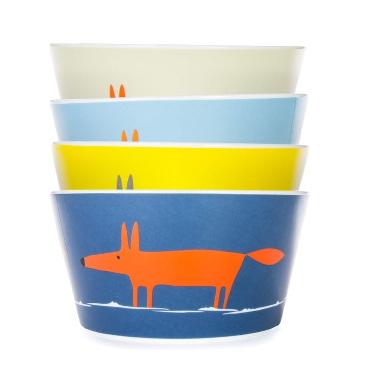Mr Fox Bowls, Set of 4