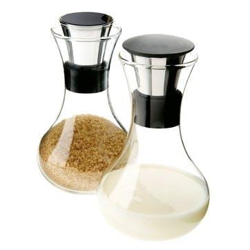 Milk & Sugar Set - 0.25L, Clear