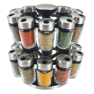 20-Jar Herb & Spice Carousel