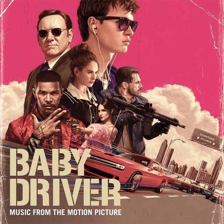 "Baby Driver Original Soundtrack 12"" Vinyl"
