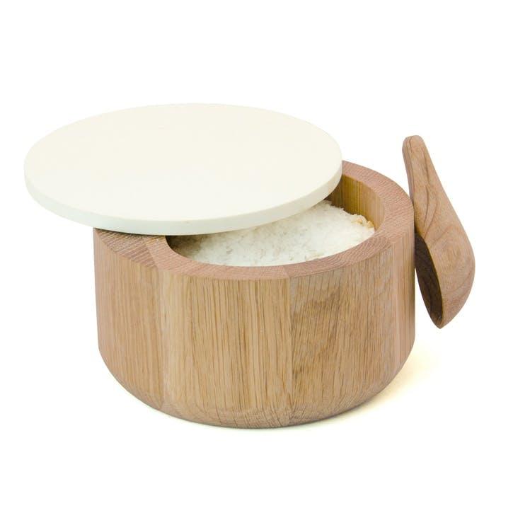 Salt Pot & Spoon