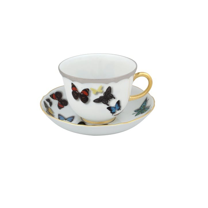 Butterfly Parade Tea Cup & Saucer
