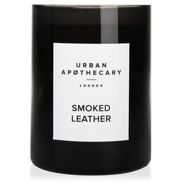 Smoked Leather Luxury Candle, 300g