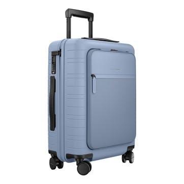M5, Cabin Suitcase, W40 X H55 X D20cm, Blue Vega