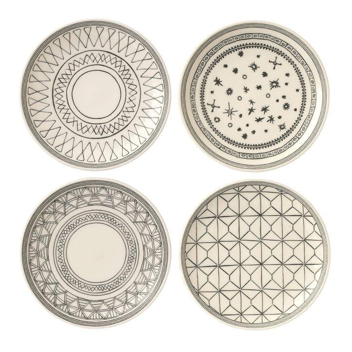 ED Ellen DeGeneres Dessert Plate, Charcoal Grey