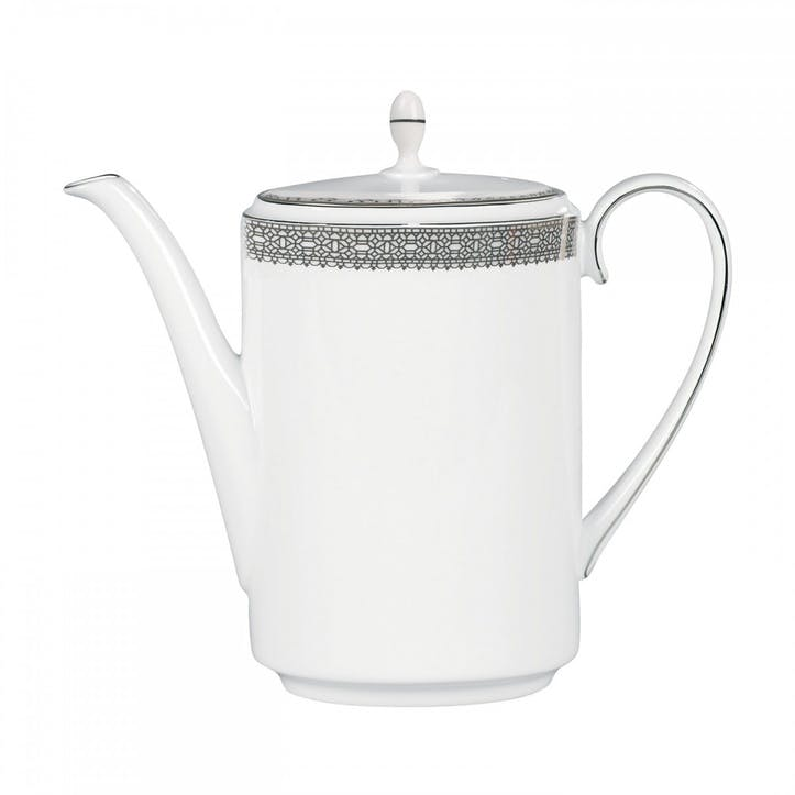 Lace Platinum Coffeepot