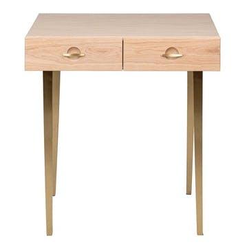 Crawford Dressing Table Light Oak