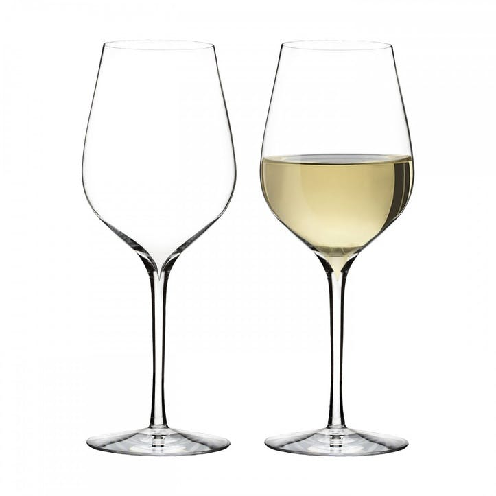 Elegance Crystal Sauvignon Blanc Wine Glass, Set of 2