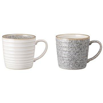 Studio Grey Mug, Set of 2