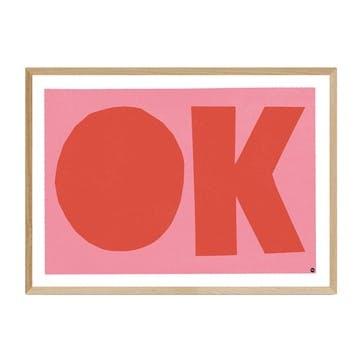 In House, OK Framed Art Print