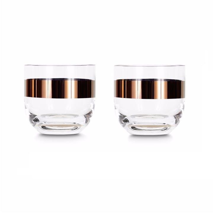 Tank Whiskey Glasses, Set of 2