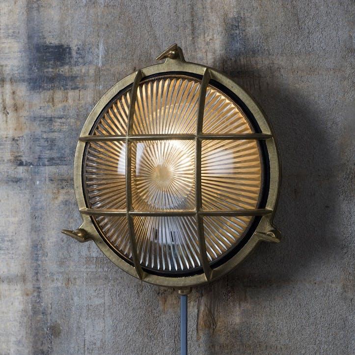 Devonport Round Bulk Head Light