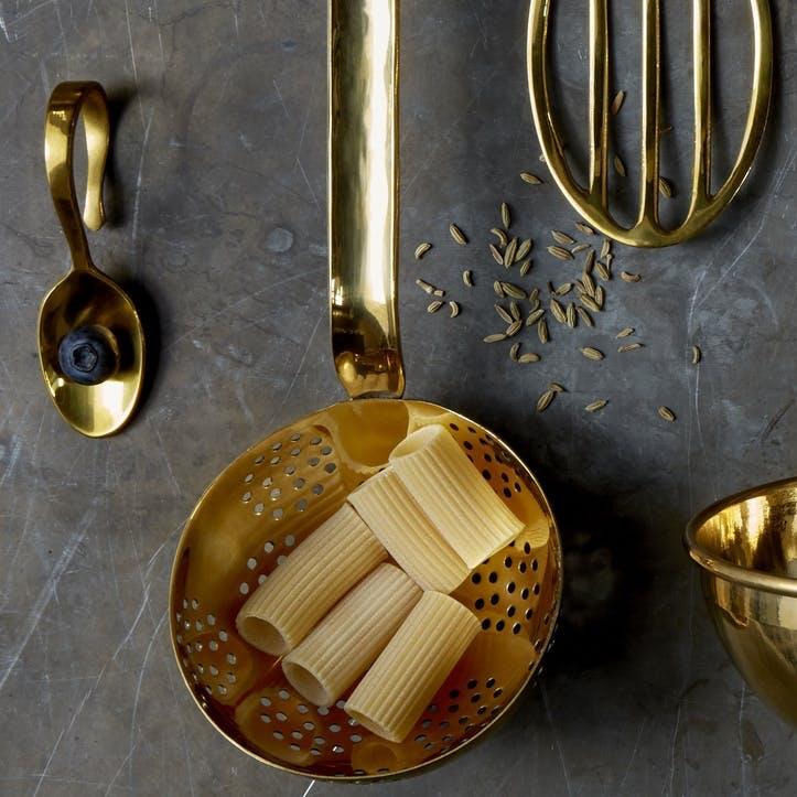 Brass Colander Ladle
