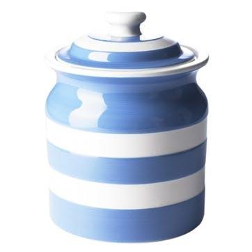 Large Storage Jar, 59oz/168cl, Blue