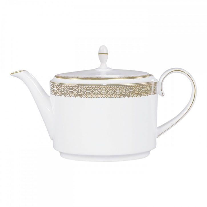 Lace Gold Teapot