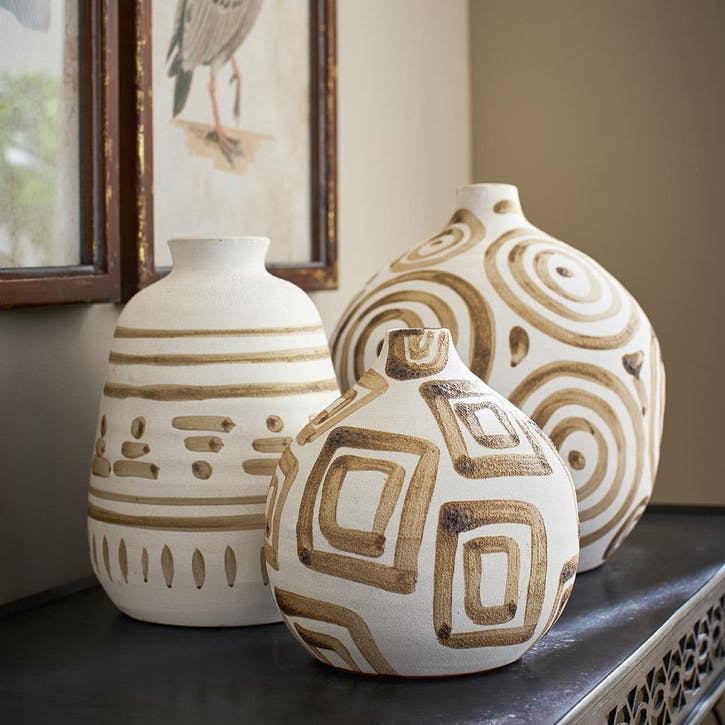 Himba Swirl Decorative Vase