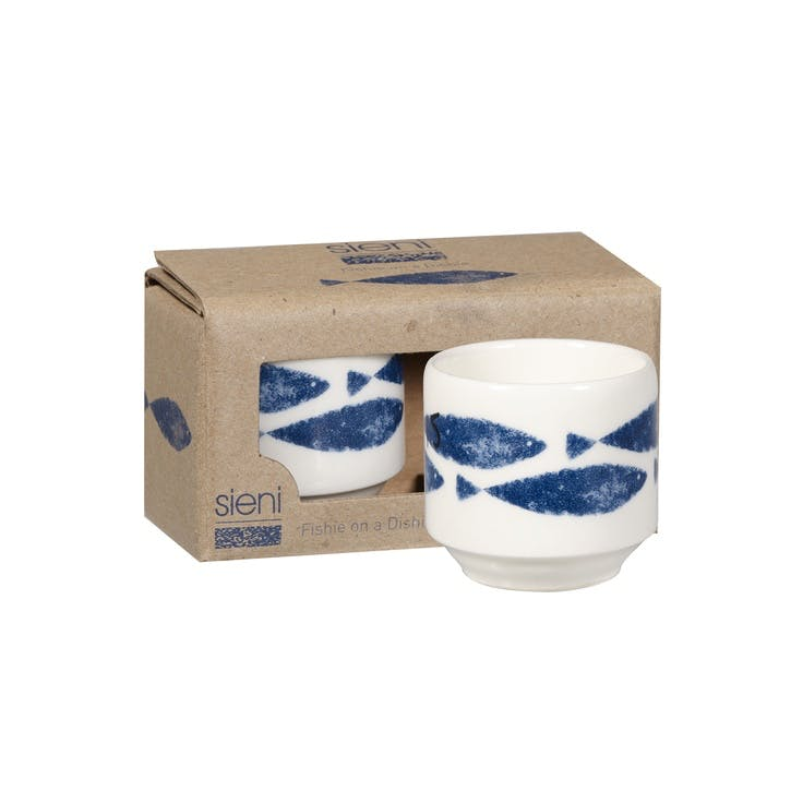 Sieni Fishie On A Dishie Egg Cups, Set of 2