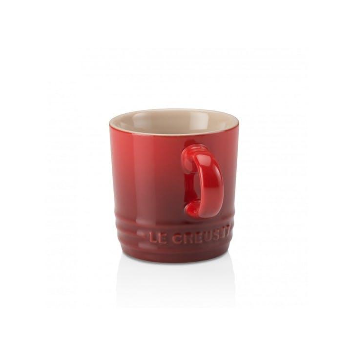 Stoneware Espresso Mug; Cerise