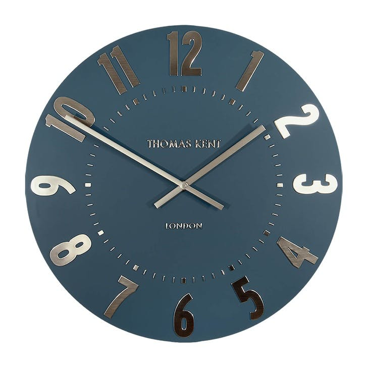 Mulberry Clock, 51cm, Midnight Blue