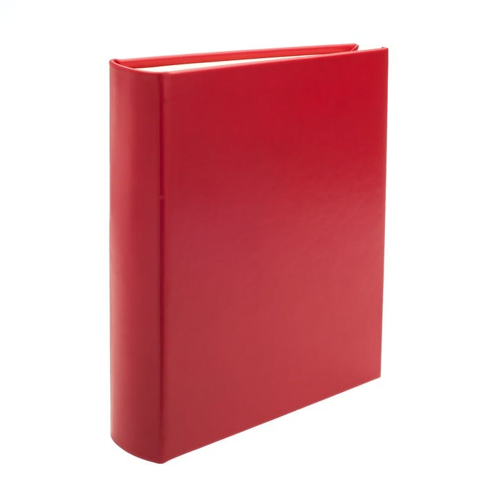 Chelsea Portrait Leather Photo Album, Poppy