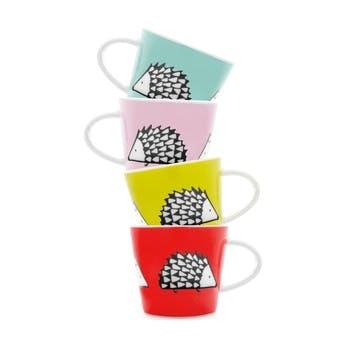 Spike Espresso Cups, Set of 4