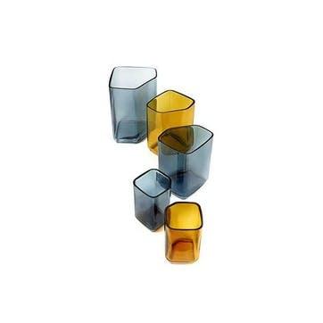 Silex, Small Vase, Yellow