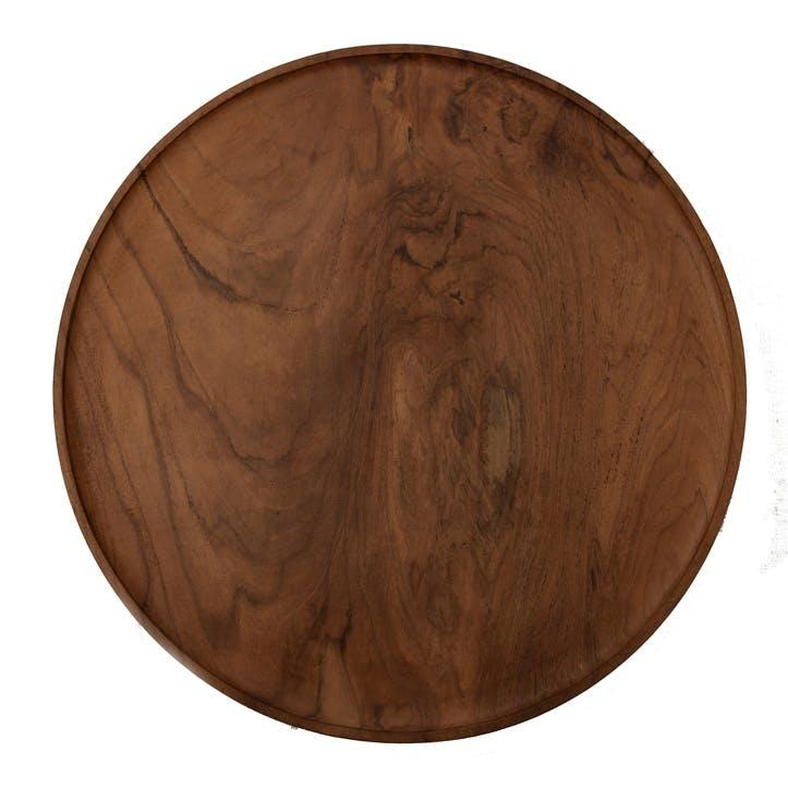 Round Teak Platter
