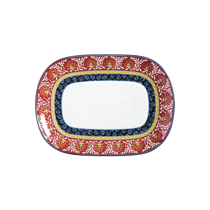 Boho Oblong Platter, Large