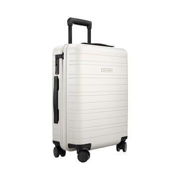 H5, Cabin Trolley Suitcase, W40 X H55 X D20cm, Cosmic White