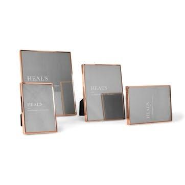 Simple Copper Photo Frame, 18 x 13cm
