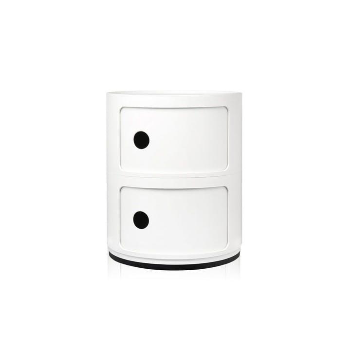 Componibili, 2 Door Cabinet, White