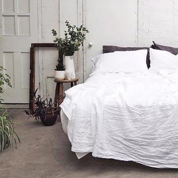 Pair of Standard Pillowcases White