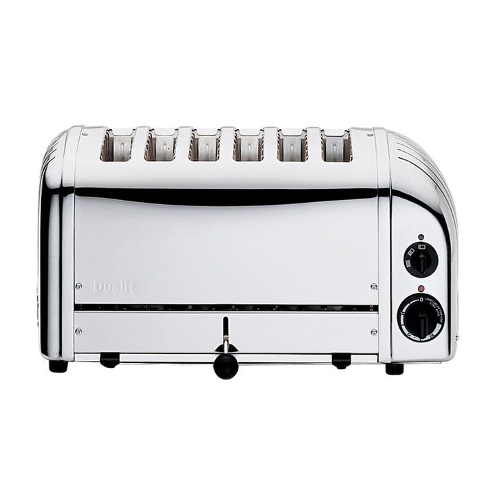 Classic Vario 6 Slot Toaster, Polished