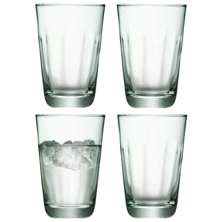 LSA Mia Recycled Highball, Set of 4