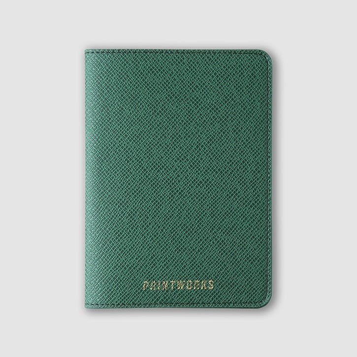 Passport Holder, Green