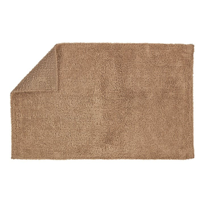 Reversible Bath Mat, Mocha