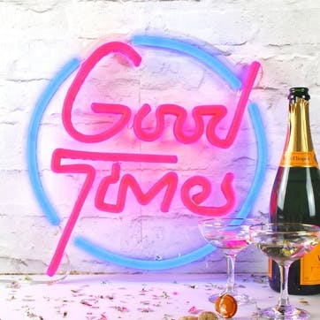 'Good Times' LED Neon Light