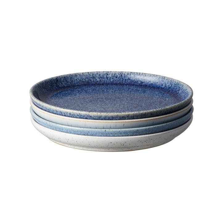 Studio Blue Set of 4 Medium Couple Plates