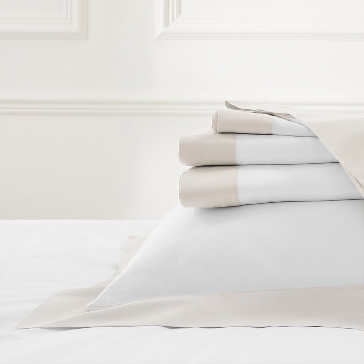 Camborne Flat Sheet, King, Oyster