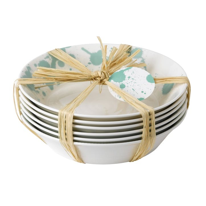 Pacific Mint Pasta Bowl, Set of 6