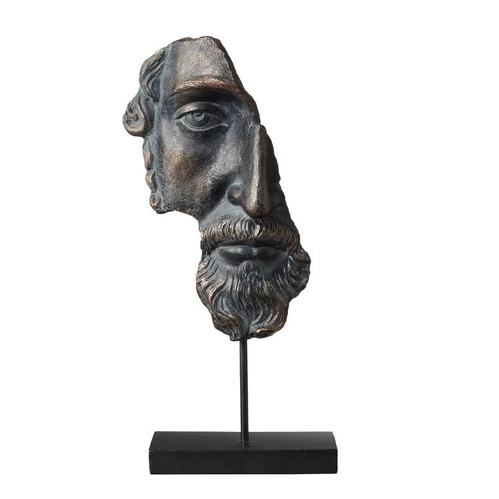 Archytas Half Head Sculpture
