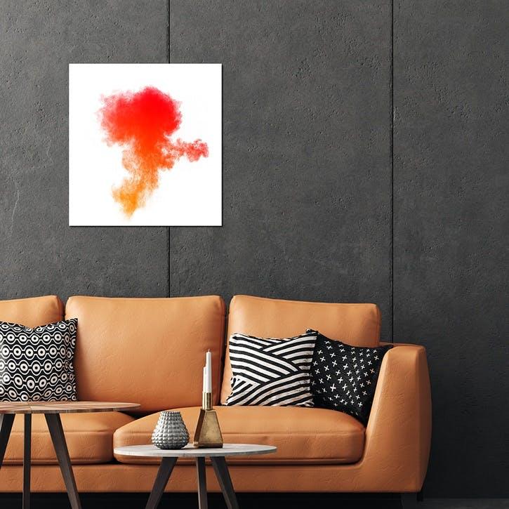 Explosion Cloud ChromaLuxe Metal Print, H51 x W51cm, Multi