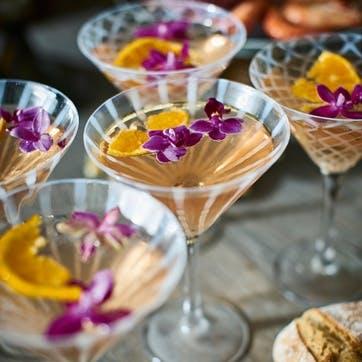 Pulcinella Cocktail Glasses, Set of 4, Multi