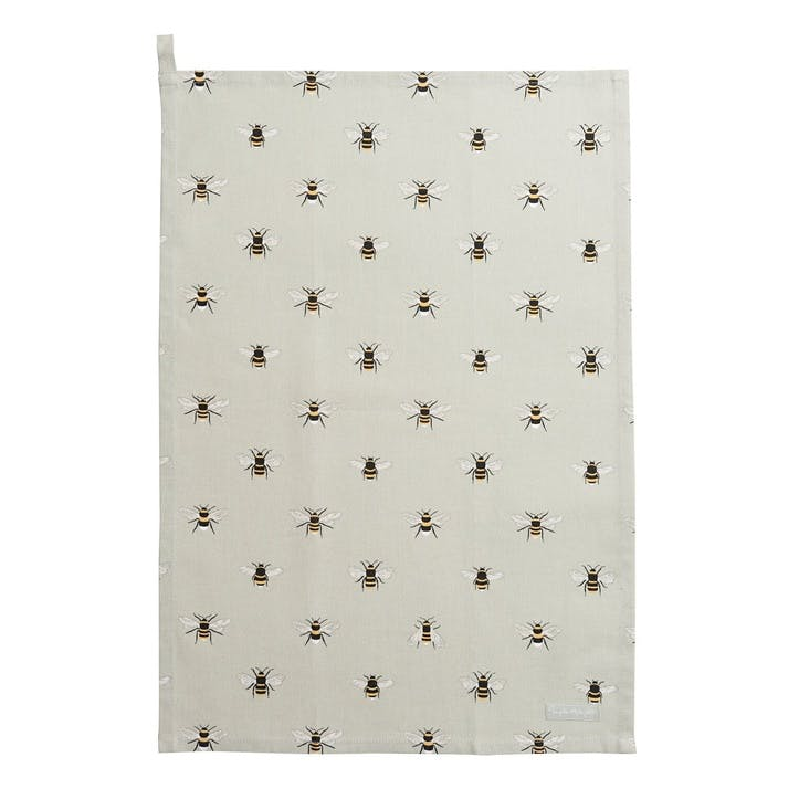 'Bees' Tea Towel