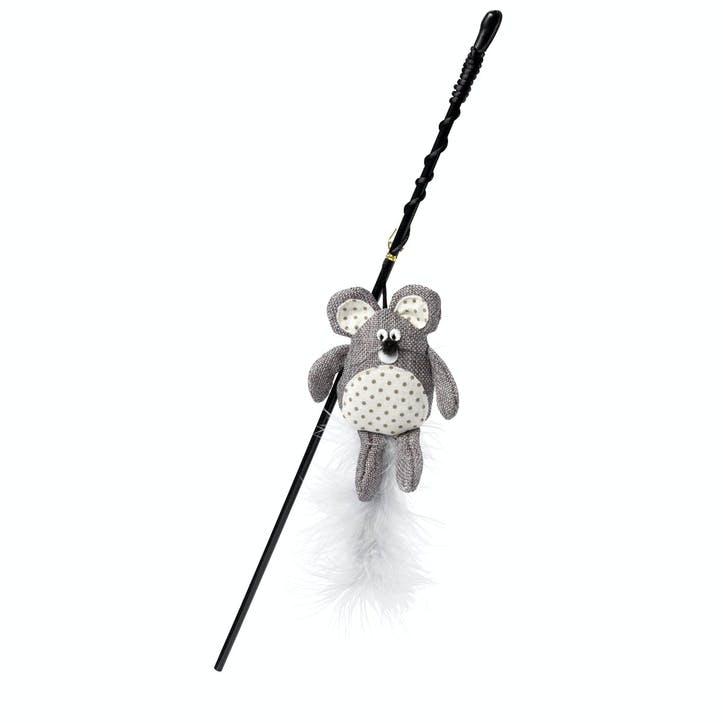Mouse Hessian Cat Wand